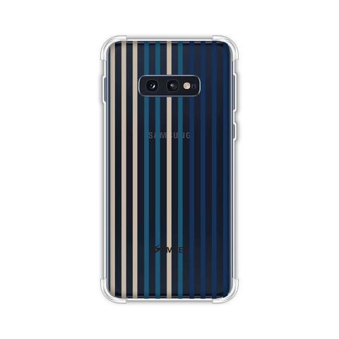 Stripes- Blues Soft Flex Tpu Case For Samsung Galaxy S10e
