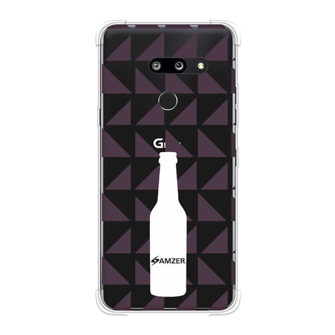 Beer and pattern - Saturated pink Soft Flex Tpu Case For LG G8 ThinQ