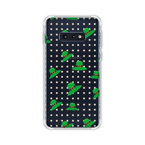 Irish Hats - Green Soft Flex Tpu Case For Samsung Galaxy S10e