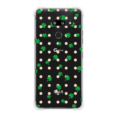 Shamrocks - Green Soft Flex Tpu Case For LG G8 ThinQ