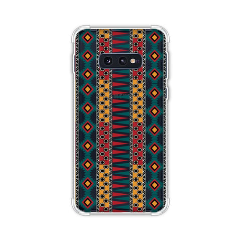 Tribal stripes- Summer sun Soft Flex Tpu Case For Samsung Galaxy S10e