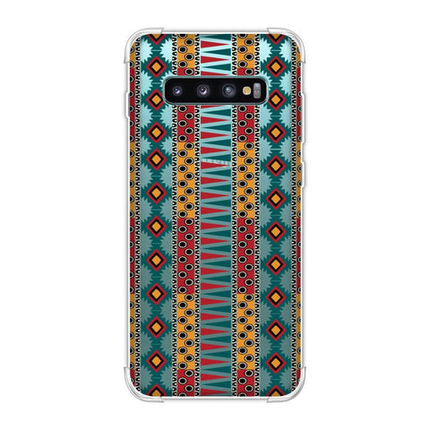 Tribal stripes- Summer sun Soft Flex Tpu Case For Samsung Galaxy S10 Plus