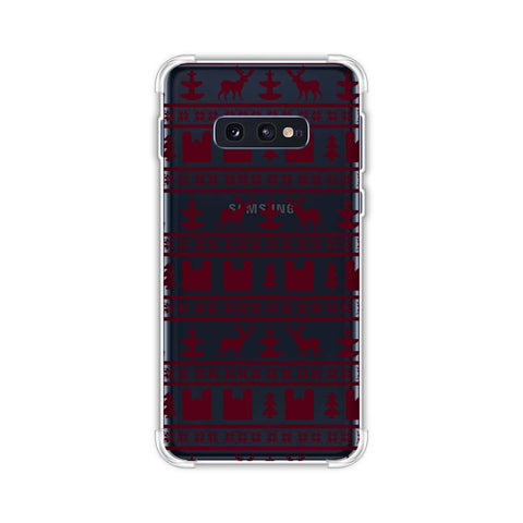 Reindeer repeats- Bulgarian rose Soft Flex Tpu Case For Samsung Galaxy S10e