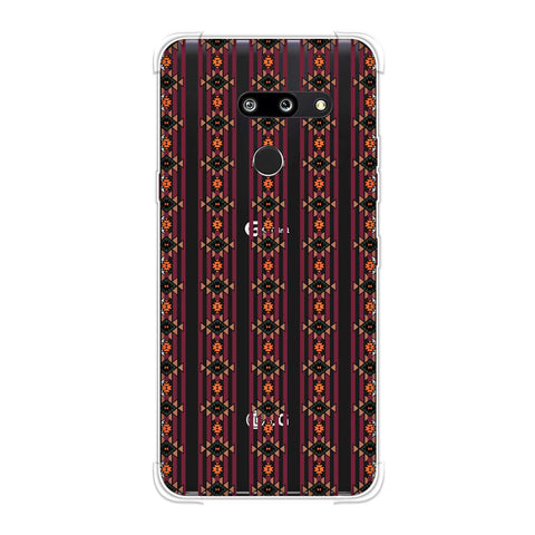 Tribal repeats- Bright mustard Soft Flex Tpu Case For LG G8 ThinQ