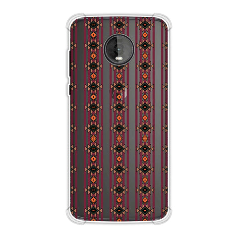Tribal repeats- Bright mustard Soft Flex Tpu Case For Motorola Moto Z4