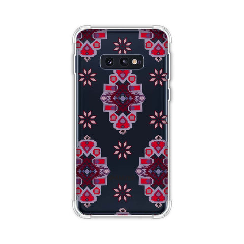 Tribal florals- Bright pink Soft Flex Tpu Case For Samsung Galaxy S10e