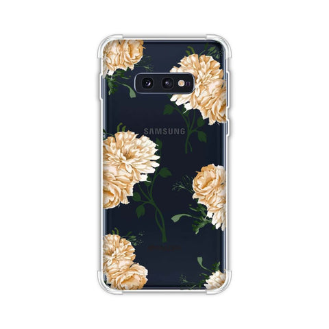 Engineered dahlia- Honey Soft Flex Tpu Case For Samsung Galaxy S10e