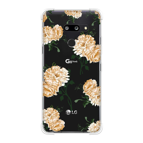 Engineered dahlia- Honey Soft Flex Tpu Case For LG G8 ThinQ