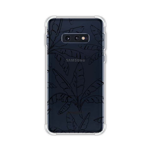Draw It Tropically - Green Soft Flex Tpu Case For Samsung Galaxy S10e
