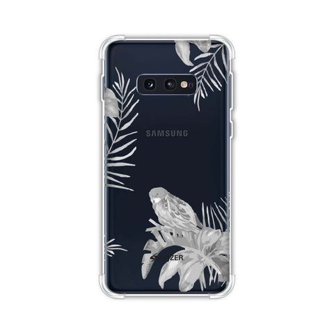 Elements of Tropical - Grey Soft Flex Tpu Case For Samsung Galaxy S10e