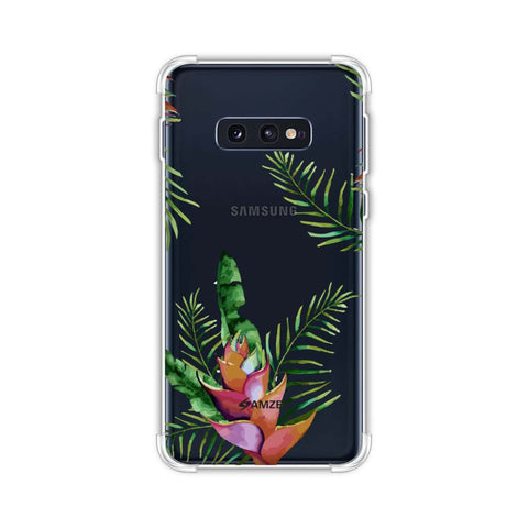 Fruitful Chevron - Violet Soft Flex Tpu Case For Samsung Galaxy S10e