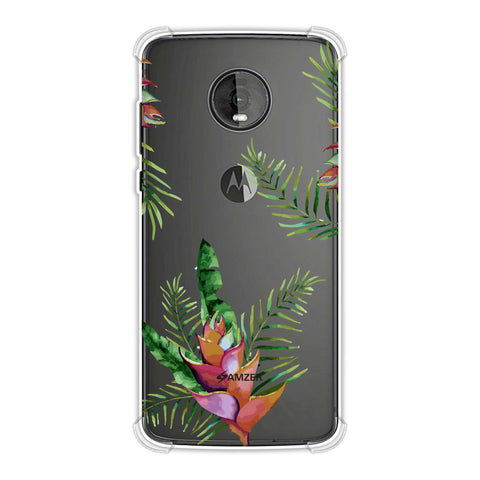 Fruitful Chevron - Violet Soft Flex Tpu Case For Motorola Moto Z4