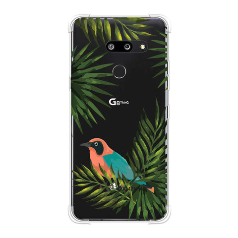 Homely Nature - Beige Soft Flex Tpu Case For LG G8 ThinQ