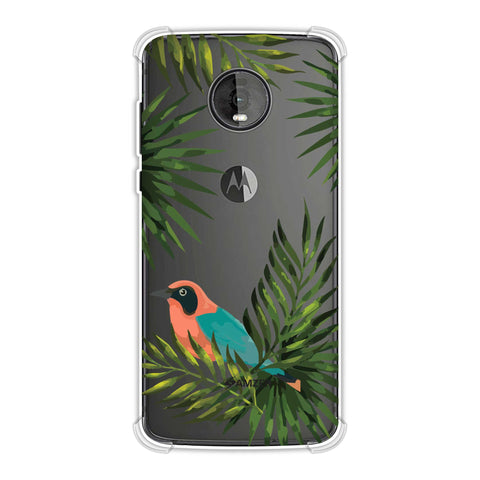 Homely Nature - Beige Soft Flex Tpu Case For Motorola Moto Z4
