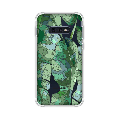 Tropically Pixelated - Teal Soft Flex Tpu Case For Samsung Galaxy S10e