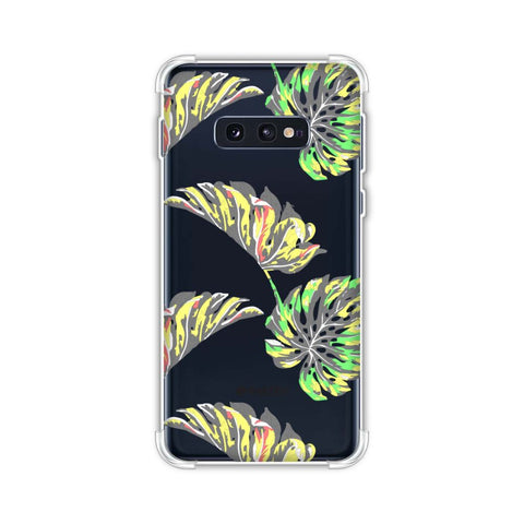 Vivid Tropical - Deep Teal Soft Flex Tpu Case For Samsung Galaxy S10e