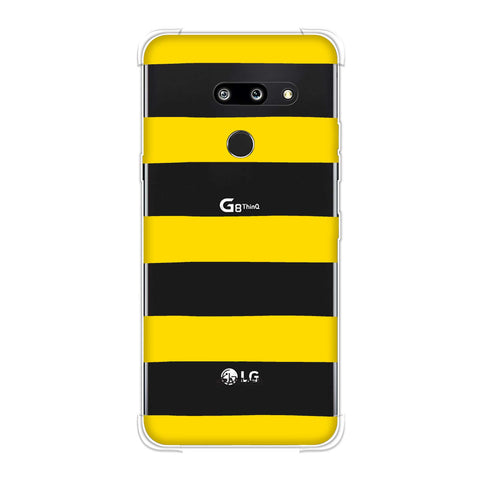 Bees - Fat Stripes Soft Flex Tpu Case For LG G8 ThinQ