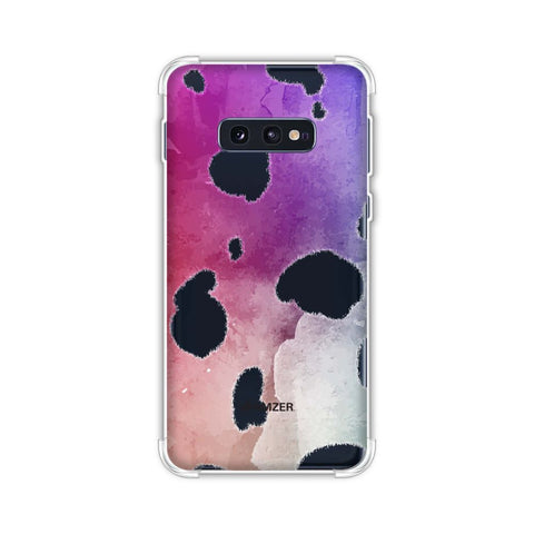 Dalmatian - White Spots With Aquatic Watercolour Overall Soft Flex Tpu Case For Samsung Galaxy S10e