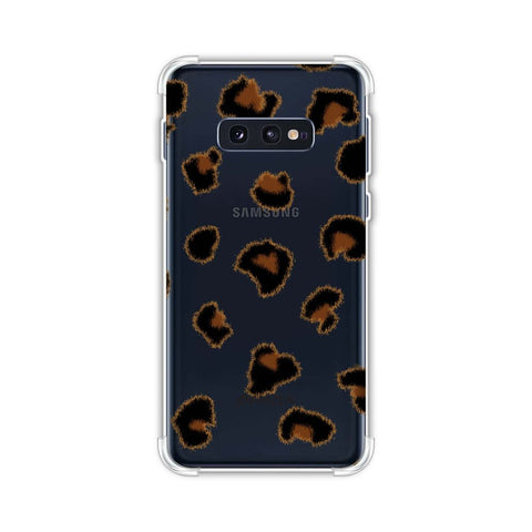 Leopard - Brushed Spots - Small Soft Flex Tpu Case For Samsung Galaxy S10e