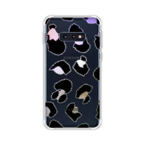 Leopard - Washed Watercolour Batik Effect Soft Flex Tpu Case For Samsung Galaxy S10e