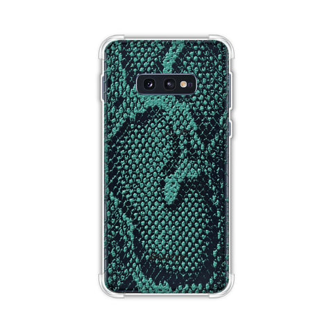 Snakes - Sea Green Skin Soft Flex Tpu Case For Samsung Galaxy S10e