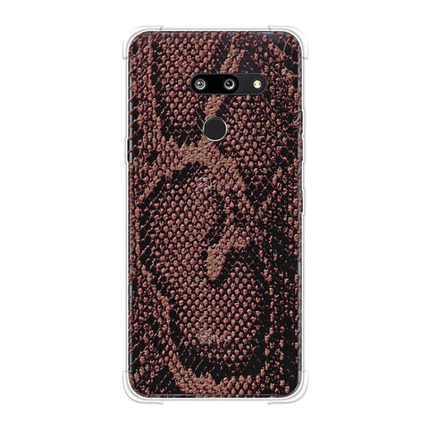 Snakes - Coral Skin Soft Flex Tpu Case For LG G8 ThinQ