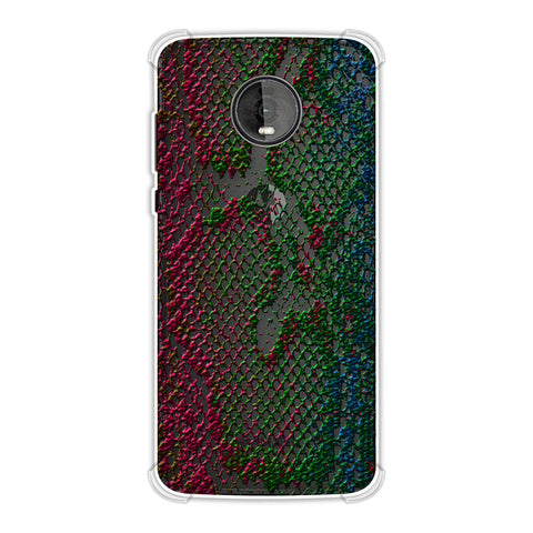 Snakes - Multi Pop Skin Soft Flex Tpu Case For Motorola Moto Z4