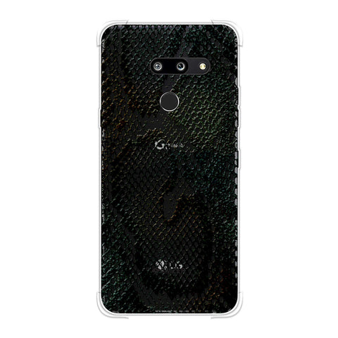 Snakes - Dark Green Pop Skin Soft Flex Tpu Case For LG G8 ThinQ