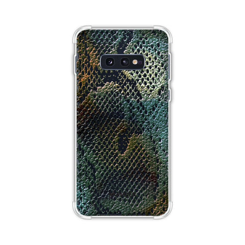 Snakes - Green Spotlight Photographic Effect Soft Flex Tpu Case For Samsung Galaxy S10e