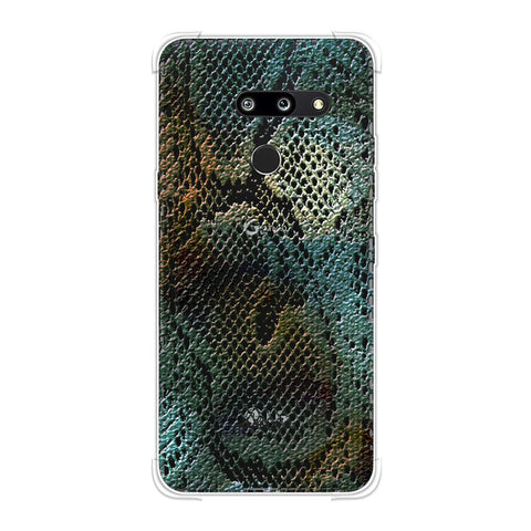 Snakes - Green Spotlight Photographic Effect Soft Flex Tpu Case For LG G8 ThinQ