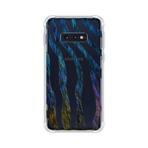 Zebra - Rainbow Stripes Hair Effect Soft Flex Tpu Case For Samsung Galaxy S10e