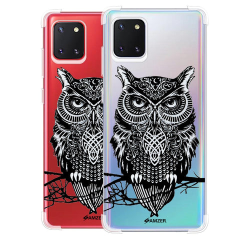 Graphic Owl Soft Flex Tpu Case For Samsung Galaxy Note10 Lite