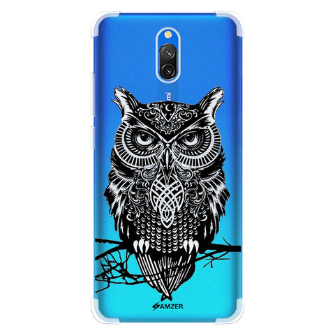 Graphic Owl Soft Flex Tpu Case For Redmi 8A Dual