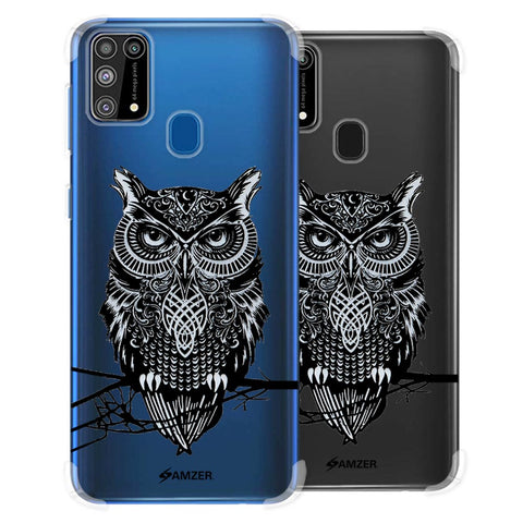 Graphic Owl Soft Flex Tpu Case For Samsung Galaxy M31