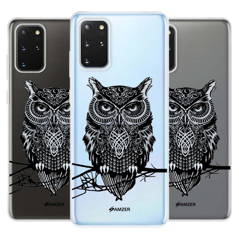 Graphic Owl Soft Flex Tpu Case For Samsung Galaxy S20+