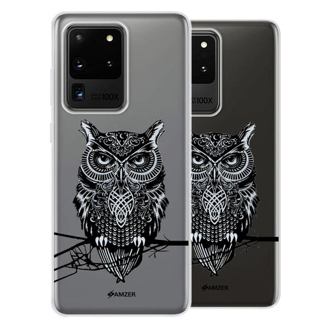 Graphic Owl Soft Flex Tpu Case For Samsung Galaxy S20 Ultra