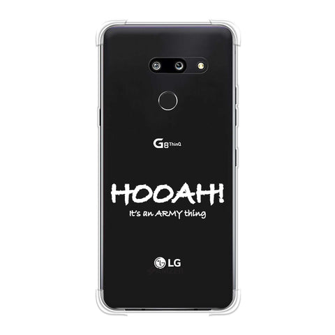 Hooah! - Army Thing Soft Flex Tpu Case For LG G8 ThinQ