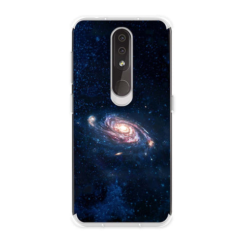 Andromeda Galaxy Soft Flex Tpu Case For Nokia 4.2