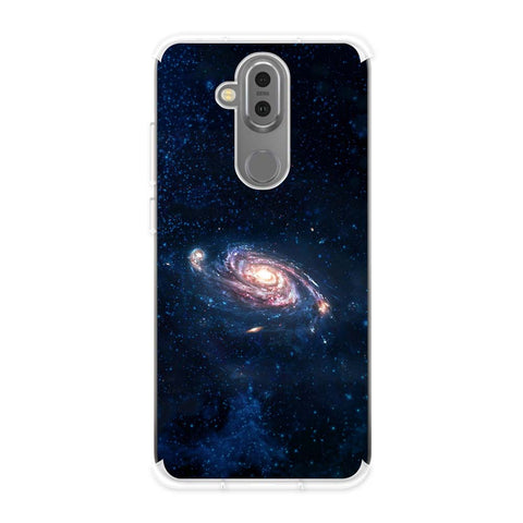 Andromeda Galaxy Soft Flex Tpu Case For Nokia 7.1 Plus