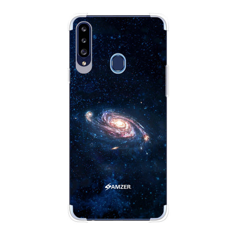 Andromeda Galaxy Soft Flex Tpu Case For Samsung Galaxy A20s