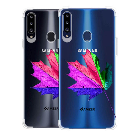 Autumn Leaf Soft Flex Tpu Case For Samsung Galaxy A20s