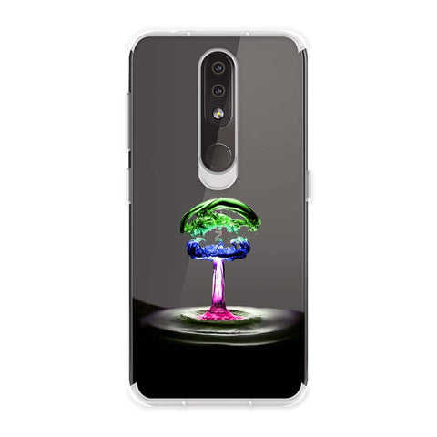 Colorful Droplet Soft Flex Tpu Case For Nokia 4.2