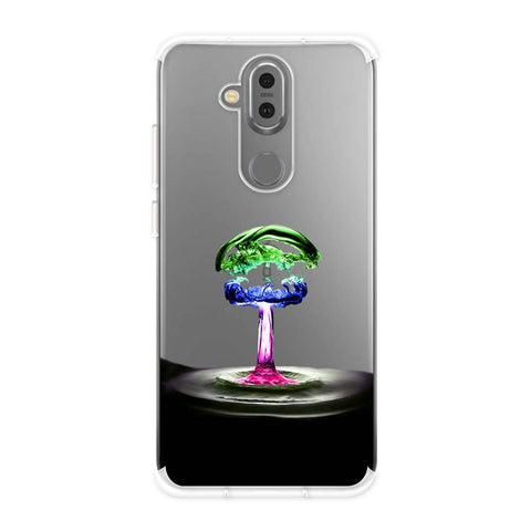 Colorful Droplet Soft Flex Tpu Case For Nokia 7.1 Plus