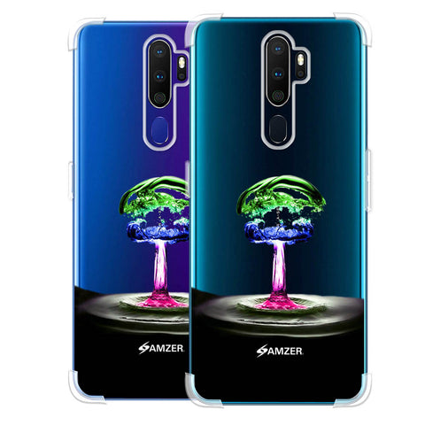 Colorful Droplet Soft Flex Tpu Case For Oppo A9 2020
