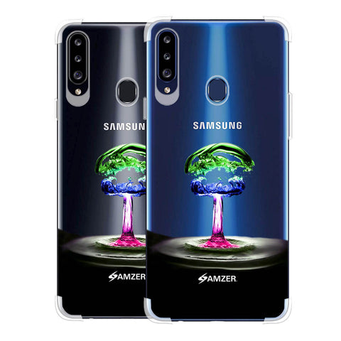 Colorful Droplet Soft Flex Tpu Case For Samsung Galaxy A20s