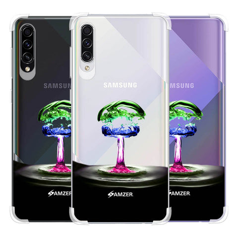 Colorful Droplet Soft Flex Tpu Case For Samsung Galaxy A50s