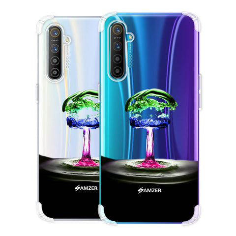 Colorful Droplet Soft Flex Tpu Case For Realme X2