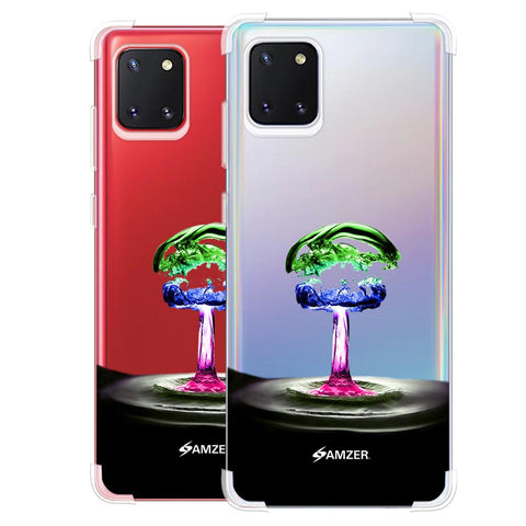 Colorful Droplet Soft Flex Tpu Case For Samsung Galaxy Note10 Lite