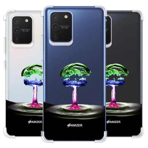 Colorful Droplet Soft Flex Tpu Case For Samsung Galaxy S10 Lite