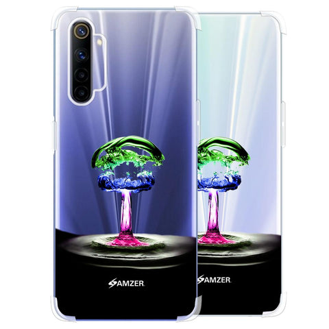 Colorful Droplet Soft Flex Tpu Case For Realme 6